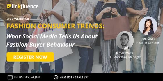 webinar Fashion consumer trends on social media