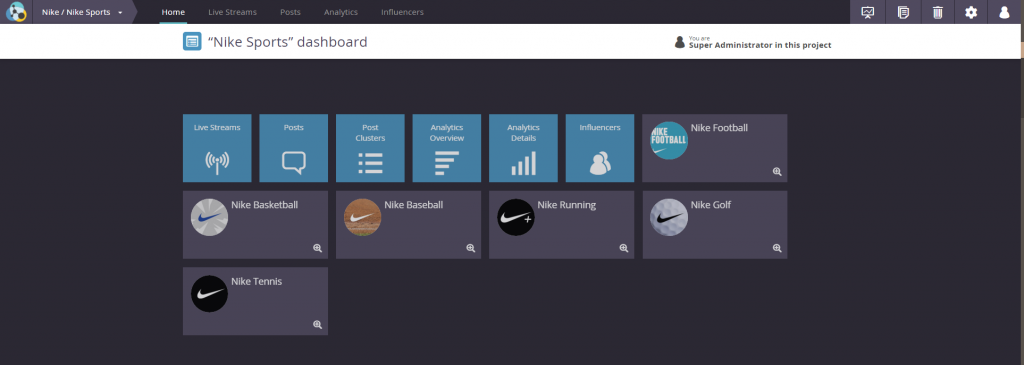 Radarly, a social media monitoring tool integrates new feature, Clusters