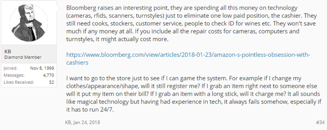 Amazon Go Tech Forum