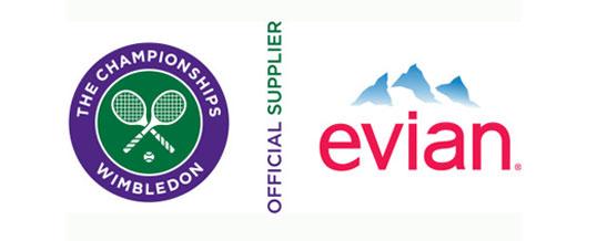 #BrandSlam: Evian Wimbledon 2016 sponsor