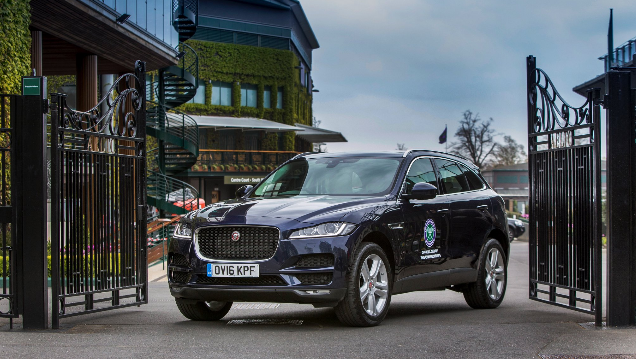 #BrandSlam: Jaguar win on day four of social media monitoring of Wimbledon 2016
