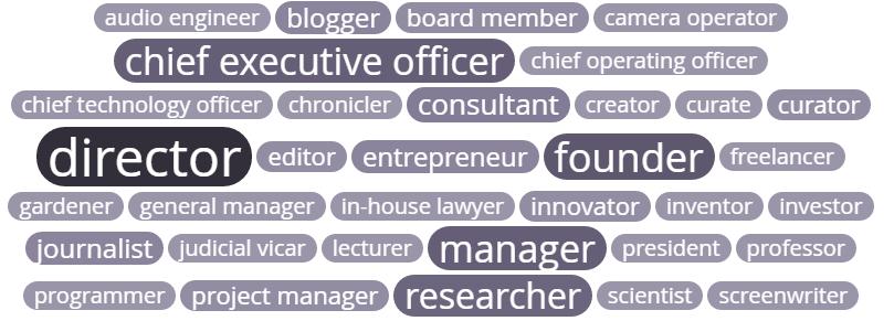 Consumer insights: job title