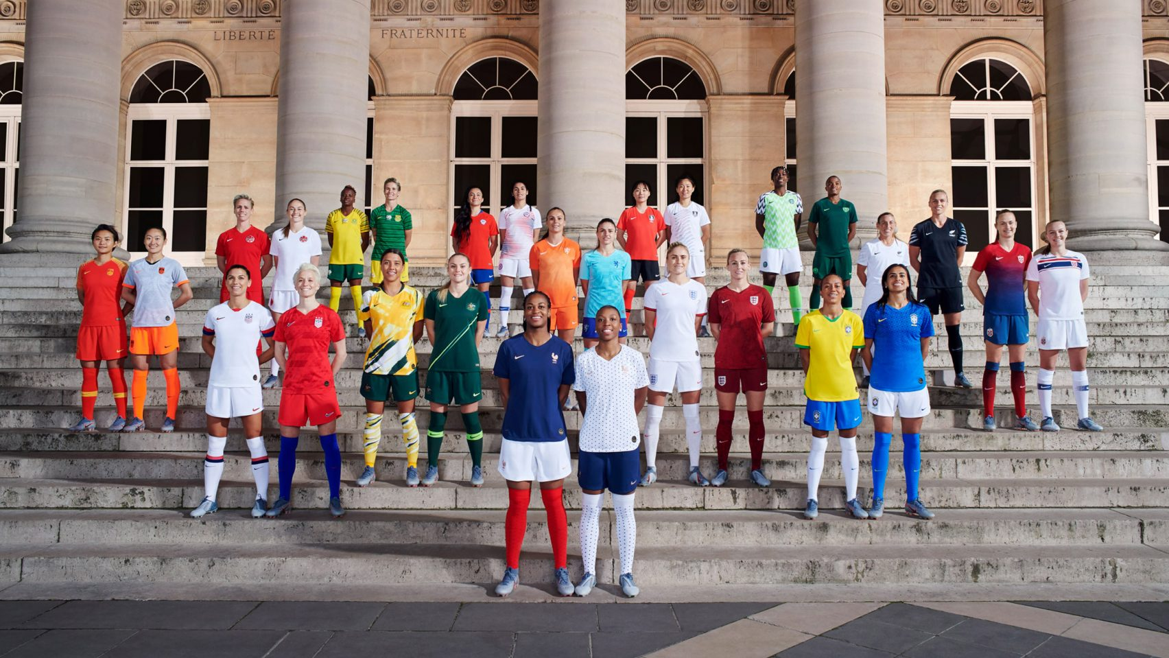 Nike unveils three unique collections dedicated to the 2019 World Cup