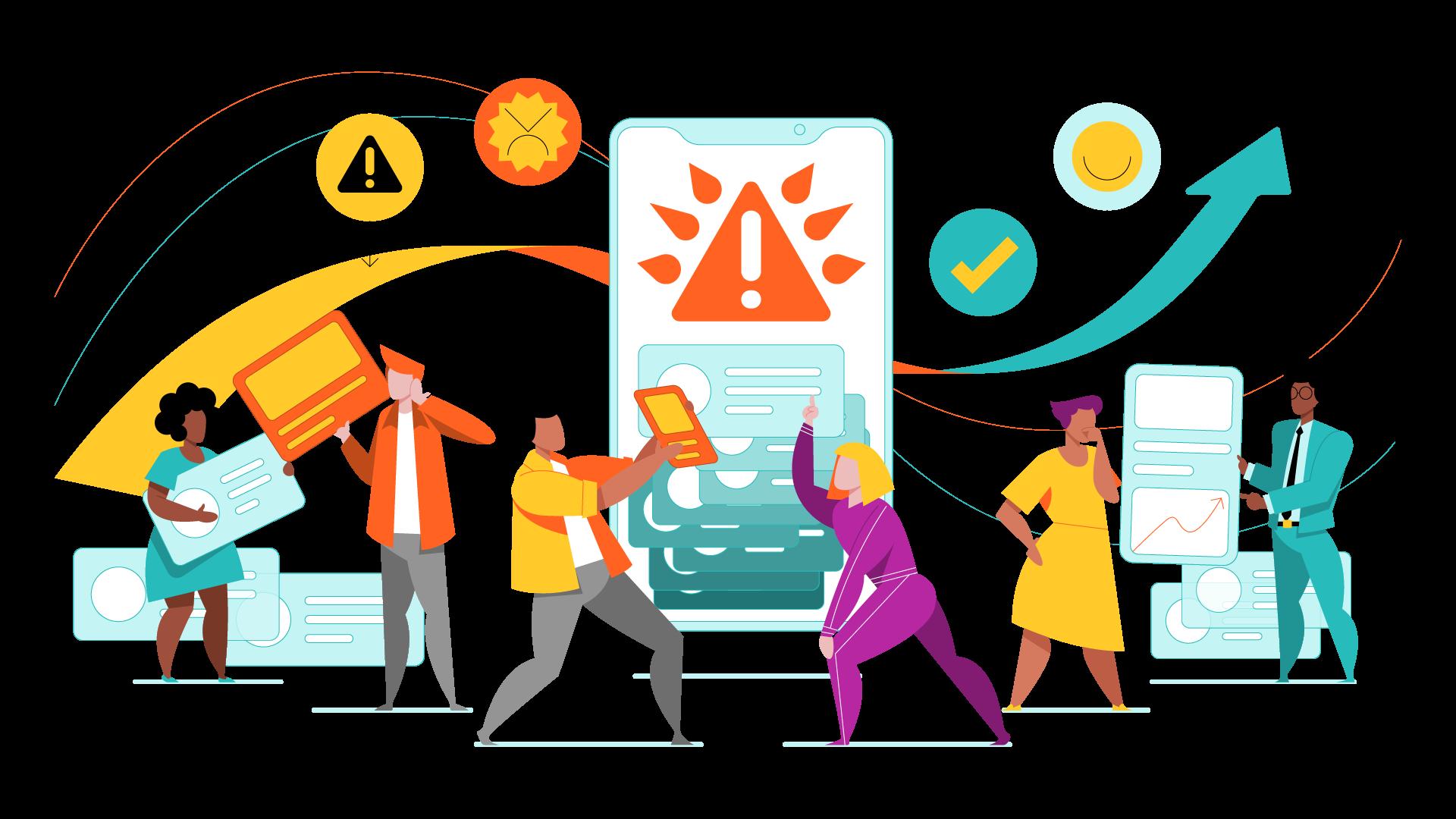 65896-linkfluence-website illustrations-supersideReputation Management-Full Color1x
